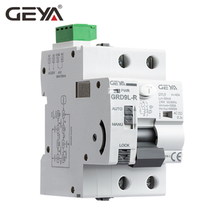 Image 2 - GEYA dispositif de fermeture automatique 6KA ELCB RCCB 2P, disjoncteur, télécommande RCD 40A 63A 30mA