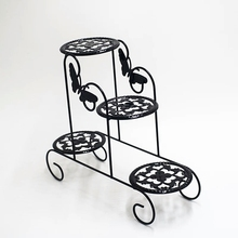 Shelf Flowerpot Wrought-Iron Balcony Multifunctional Mini The Desktop Window-To-Receive