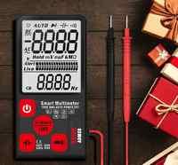 Mini multimètre numérique testeur voltmètre tension résistance Test de continuité