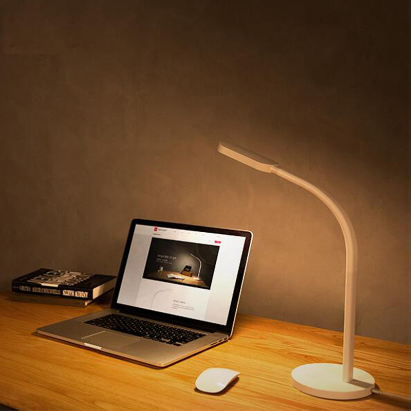 Image 2 - Original Xiaomi  Led Desk Lamp Dimmable Folding Lights Touch Adjust Flexible Lamps  Energy Saving For xiaomi smart home kits-in Smart Remote Control from Consumer Electronics