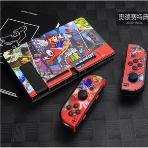 Image 2 - Marios抗指紋nintendスイッチnintendoswitch nsコンソールゲームのためのプロテクターアクセサリー & 親指キャップ