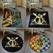Chave mágica redonda faculdade tapete de chão tapete quadrado quarto cozinha sala de estar antiderrapante presente