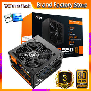 Fan PSU Computer PC Power-Supply ATX Desktop Bronze Aigo Gp550-Max Silent 80PLUS 750W