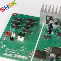 UV printer controller motherboard  green motherboard with nozzle connection  USB cable interface board  power interface board