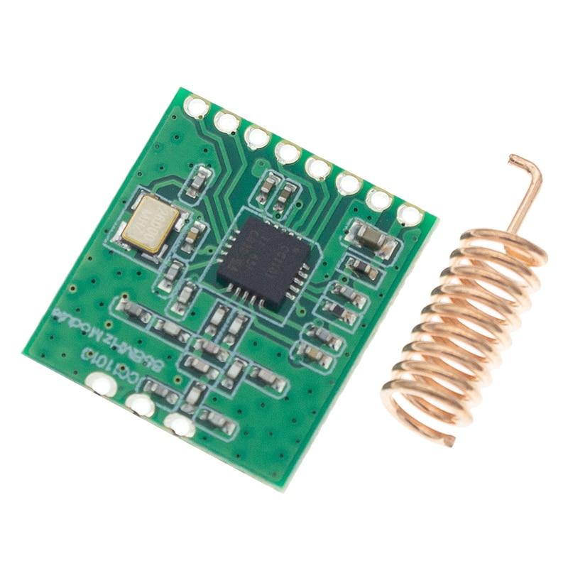 CC1101 Беспроводная модульная антенна передачи на большие расстояния 868 МГц Интерфейс SPI низкая мощность M115 для FSK GFSK ASK OOK MSK 64 байт