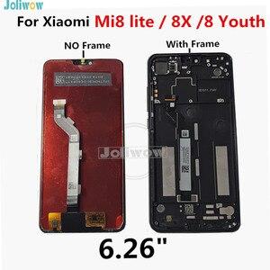 Image 2 - LCD dorigine pour Xiaomi Mi8 Lite LCD écran tactile numériseur assemblée pour Xiaomi Mi8 Lite LCD jeunesse 8X Mi 8 Lite LCD
