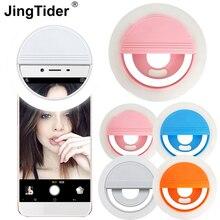 Anillo de luz Universal para Selfie para mujer, SF 002, 36 bombillas LED, 5600K, recargable vía USB, Internet, celebridad, destello de luz LED