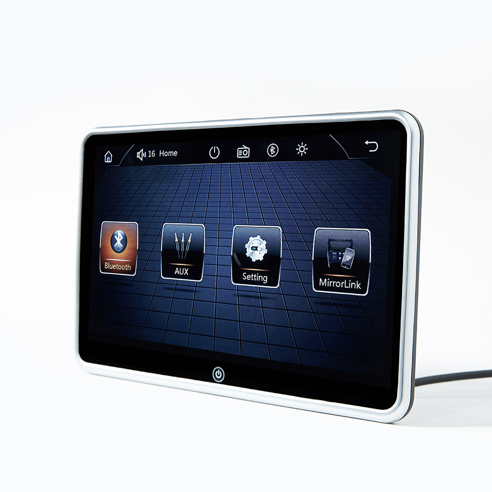 10.1 pollici Ultra-sottile Auto Poggiatesta Monitor Lettore MP5 Specchio link Android FM HD 1080P Video Schermo Con USB/SD Lettore Multimediale
