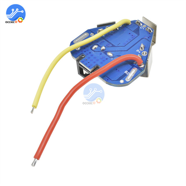 BMS 3S 12.6V 6A 18650 Li-ion Lithium Battery Charger Protection Board Power Bank Balancer Equalizer for Motor Drill 2