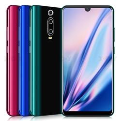Xgody 3g telefone móvel 9 t 1 gb 4 gb 6.26 screen core tela qhd mtk6580 quad core android 9.0 waterdrop tela cheia 2800 mah smartphone