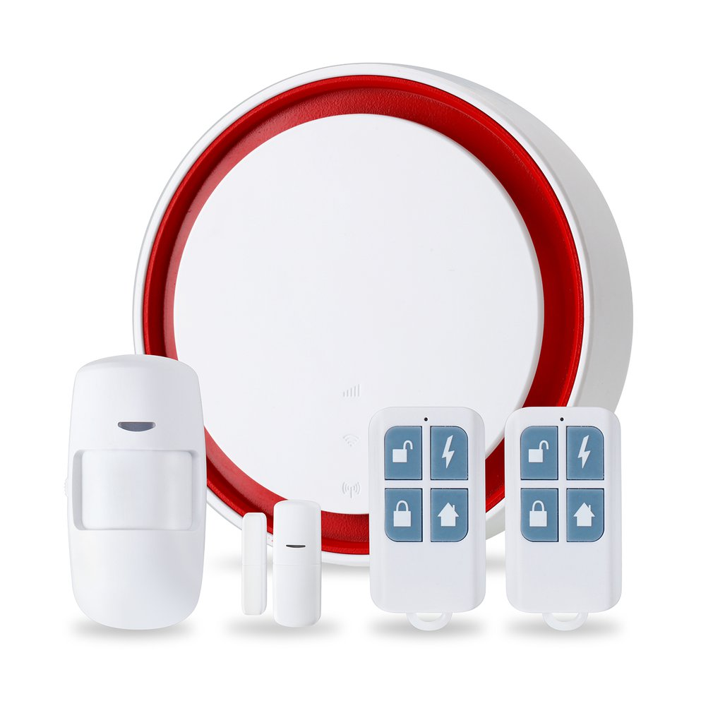 Smart Wifi+GSM Multi-function Single/Dual-network Alarm Set Wireless Anti-theft Alarm For Home Security Alarm System Kits