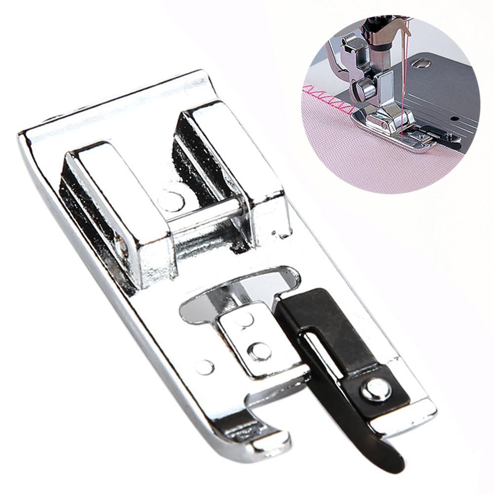 1 шт. сплошная прижимная лапка для оверлок обметочный краеобметочная Бытовая многофункциональная швейная машина лапку Прокат Инструмента