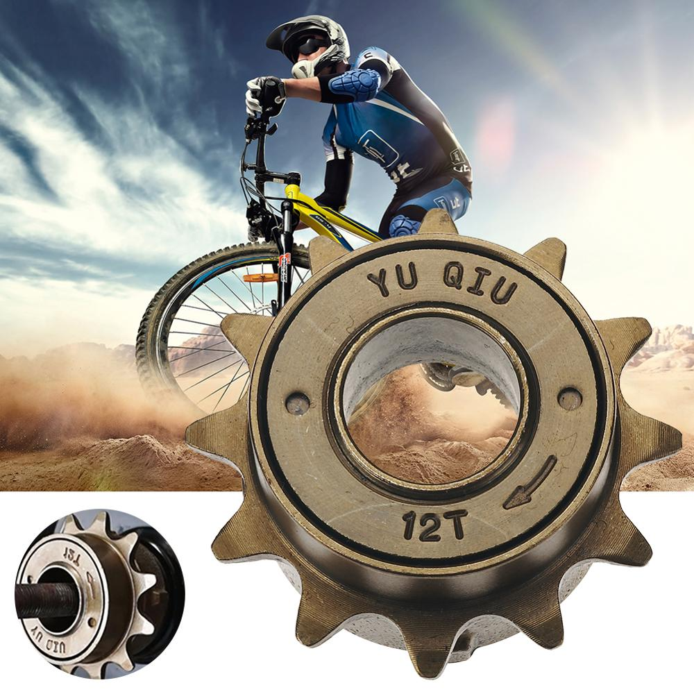 12/14/16/<font><b>18T</b></font> Teeth 18/34mm Single Speed Bicycle Freewheel Flywheel <font><b>Sprocket</b></font> Gear Steel Bicycle Accessories image