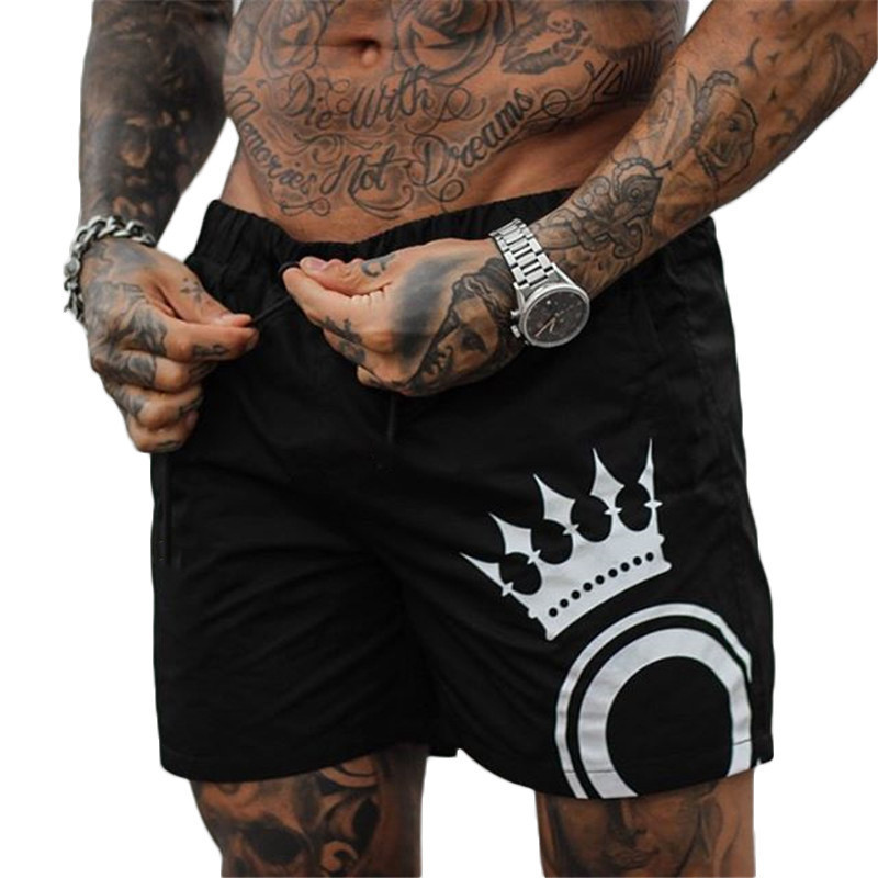 Fitness Shorts Sweatpants Clothing Joggers Gyms Quick-Drying Bodybuilding Breathable