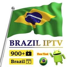 1 Year IPTV Brazil Subscription 900+ Brazil IPTV Android H.265 EPG 4K Portuguese IPTV Brasil IP TV for TV Box No App Included qhdtv arabic iptv x96 max plus 4gb 64gb android 9 0 box iptv germany netherlands belgium ip tv no app included