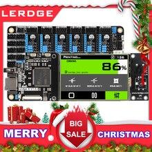 LERDGE 3d плата принтера ARM 32-битная плата управления контроллер материнская плата 3,5-дюймо вый экран Diy частей материнской платы матч PT100 датчик TMC2208 LV8729 A4988 для Ender 3 CR10
