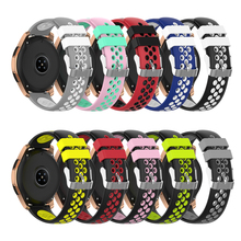 Silicone Watch Bands for Samsung Galaxy Watch Active Band fo