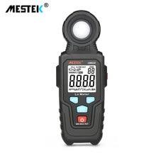 цена на MESTEK LM610 Illuminometer Light Meter 100,000 LUX Digital Luxmeter Luminance Lux Fc Test Max Min Illuminometers Photometer