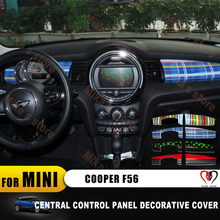 (2pcs/set)For mini cooper F56 car styling Instrument Panel  sticker Rings Center Dash Board Decoration Cover