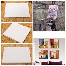 100% хлопок деревянная рамка для холста масляной живописи профессиональный художественный холст в рамке предварительно растянутый хлопок ж...