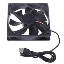 1 шт. 5 в USB разъем 50x50x10 мм ПК компьютер охлаждения кулер вентилятор радиатора горячая распродажа