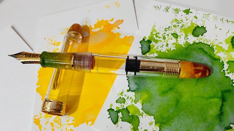 Ouro de Resina Transparente, qualidade Iridium EF