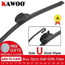 Car Wiper Blade Side U Hook Natural Rubber Windshield Windscreen 1214161718192021222426283032 Auto Accessories