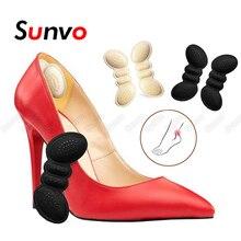 Женщины каблук протектор накладка для высоких каблуков обувь регулировка размер клей каблук подкладка ручки обувь вставка наклейка боль облегчение стопа уход