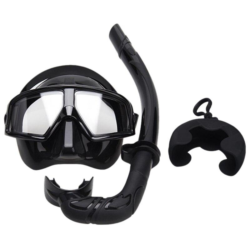 Masque de plongée tuba adulte lunettes Tube de respiration ensemble de lunettes de plongée trois trésors