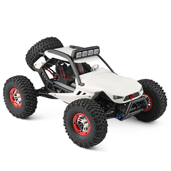 WLtoys XK 12429 1:12 RC Car Crawler 40km/h 4WD 2.4G Electric Car with Head Lights Perfect Equipment RC Off-Road Car Gift Toy Kid 2