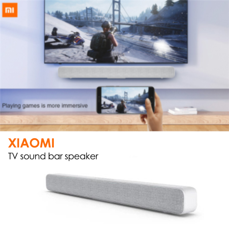 Xiaomi Speaker Portable Soundbar TV Bluetooth Home-Theatre Wireless-Bar IN AUX for Optical-Spdif title=
