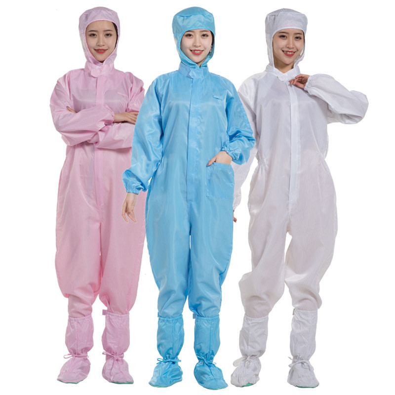 Nurse Suit Disposable Waterproof Oil-Resistant Protective Coverall For Spary Painting Decorating Clothes With Shoes Overall Suit