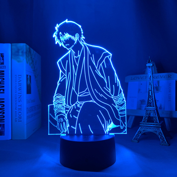 Lampa Led 3d Anime Yona świtu Hak do sypialni dekoracyjna lampka nocna prezent urodzinowy akrylowa Led lampka nocna Yona świtu tanie i dobre opinie ILightsxlly Night Light CN (pochodzenie) ROHS Z certyfikatem VDE Nightlight Z tworzywa sztucznego Żarówki LED Touch 110 v