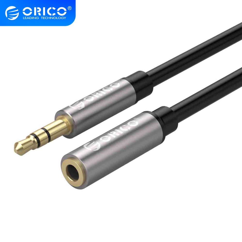 ORICO <font><b>3.5mm</b></font> Aux Cable <font><b>Jack</b></font> Headphone Extension Cable Gold Plated <font><b>Audio</b></font> Stereo <font><b>Extender</b></font> Cord For Computer iPhone Player Earphone image