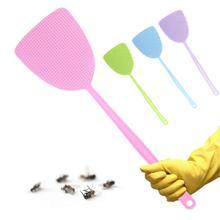 Домашняя Гибкая мухобойка с длинной ручкой, средство для борьбы с вредителями, насекомыми, насекомыми, Москитными насекомыми