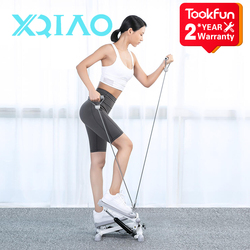 Top Brand New Xqiao Mini Stepper With Elastic Rope Fitness Equipment Running Machines Multi-functional Treadmills Equipped
