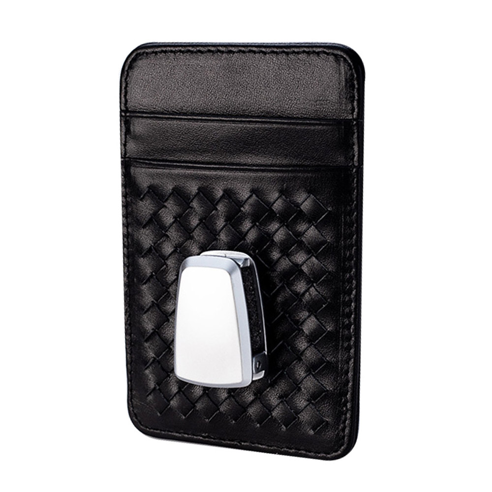 YOLU Leatear Car Visors Card Holder Auto Anti Dazzling Tools Multifunctional Glasses Pen Clip Interior Accessories in Stowing Tidying from Automobiles Motorcycles