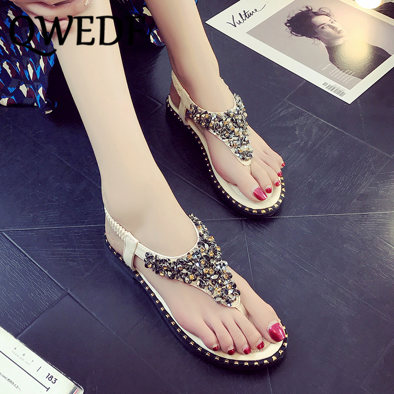 New summer Bling sequins flat shoes fashion 1