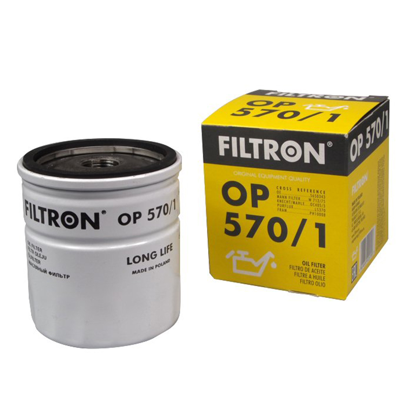 FILTRON OP570/1 For oil filter Opel filtron oe648 1 for oil filter opel