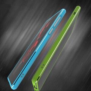 Capinha para rog2 rog phone2 deluxe amortecedor ultra fino caso de alumínio para asus rog telefone 2 zs660kl + 2 filme (frente + traseira)
