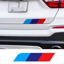 M 3 цвета боковая юбка стикер задний багажник наклейка для BMW Все модели X1 X3 X5 E46 E39 E90 E36 E60 F10 F30