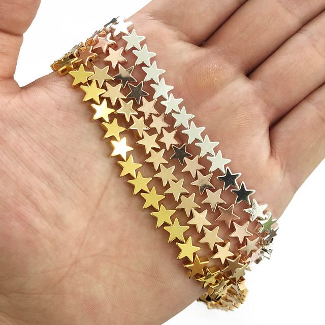 4/6/8mm Star Beads 1
