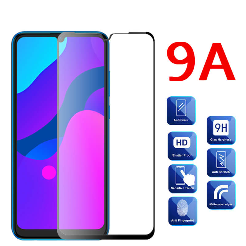 Protective Glass For Honor 9A Tempered Glass Screen Protector For Huawei Honor 9A MOA-LX9N 9 A A9 Honor9A 6.3 Safety Clear Films