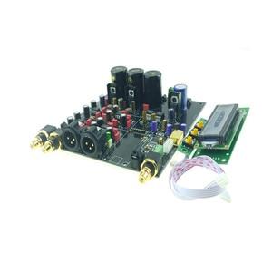 Image 2 - 2019 ES9028 ES9028PRO DAC מפענח התאסף לוח + TCXO 0.1PPM + אפשרות USB XMOS XU208 או Amanero עבור HIFI אודיו