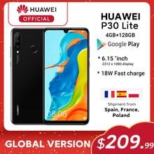 Global Versie Huawei P30 Lite 4Gb 128Gb 6.15 Smartphone Global Versie Inch Kirin 710 Telefoon Android 9.0 Mobiele Telefoon