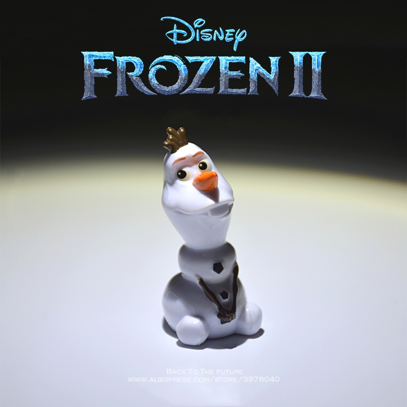 Disney Frozen Olaf Snowman 5cm Action Figure Anime Decoration Collection Figurine Doll Mini Toy Model For Children Gift