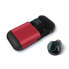 Aptx TWS Earbuds Wireless Bluetooth Earphones Stereo Headset Bluetooth 5.0 Earphone With Mic and Charging Box qcy t1 pro touch control bluetooth earphones tws mini wireless headset with mic handsfree music earbuds and 750mah charging box