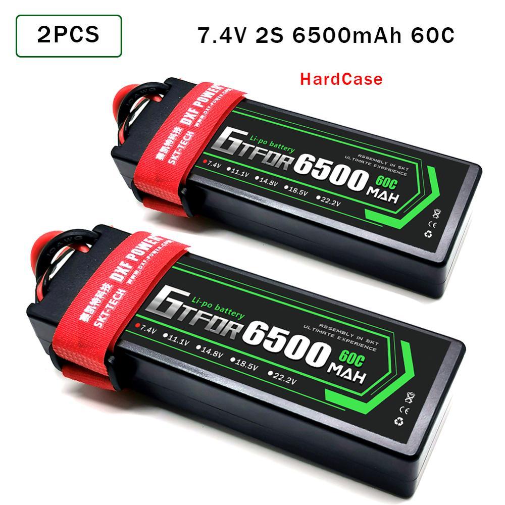 GTFDR 2S 7.4V 6000mAh 50C LiPo