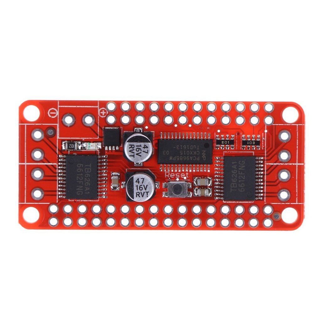 DC Stepper Motor Driver Board DC-Stepper-Motor PCA9685+TB6612 Accessories Exquisitely Designed Durable