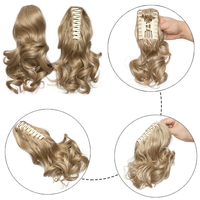 Queue de cheval, cheveux synthétique avec pinces Lace Frontal Lace frontal féminin synthétique Bella Risse https://bellarissecoiffure.ch/produit/queue-de-cheval-cheveux-synthetique-avec-pinces/